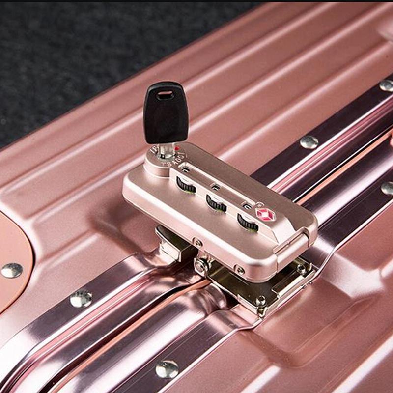 1PC Multifonctionnel TSA002 007 Sac de clés pour valises à bagages Couche de verrouillage TSA TSA