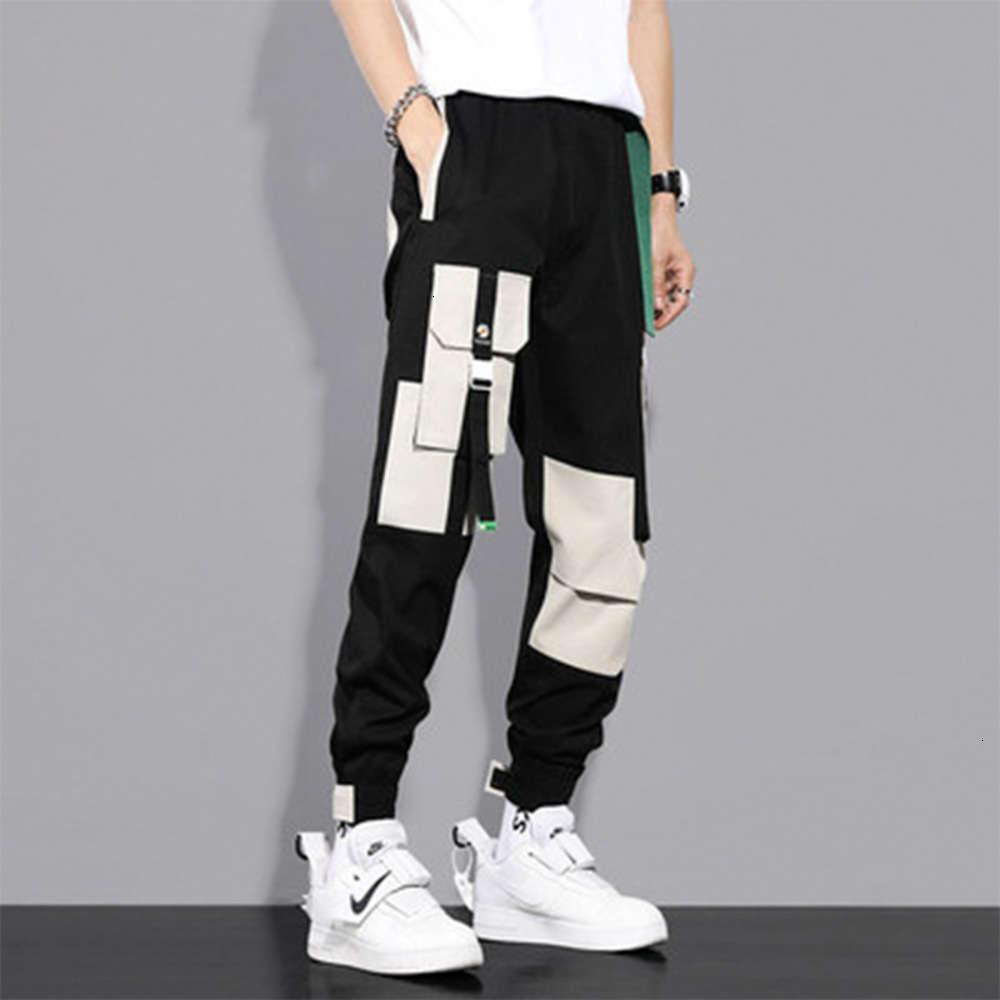 Бренд корсет комбинезон мужские капризы осенью и зимой Roffian красивые свободные повседневные брюки мода