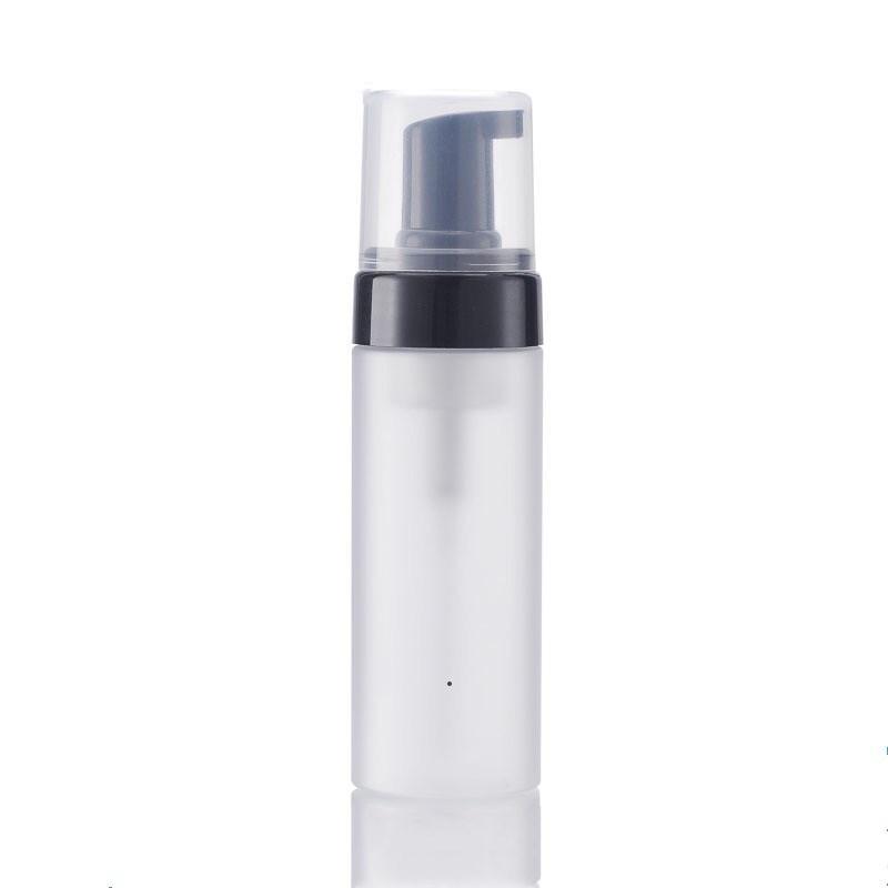 100ml / 3.3 OZ Buzlu Plastik Köpük Şişeleri Köpük Pompa Dağıtıcı Seyahat Boyutu Doldurulabilir BPA Köpük Sabun Yüz Yıkama için BEDAVA DWD10039