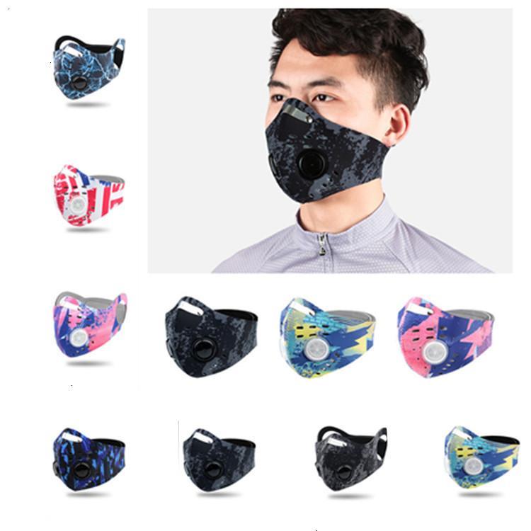 Filtro de válvula con polvo y cara Maks Nuevo Mascota a prueba de viento Tereoscópica Mask Diseñador de limpieza T2I5985