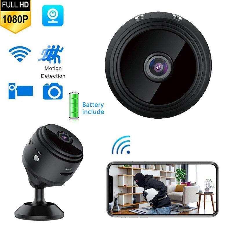 Cameras HD WiFi Mini Camera 1080P Wireless Smart Home Security IR Night Vision P2P Motion Detect Camcorder Loop Video Surveilla