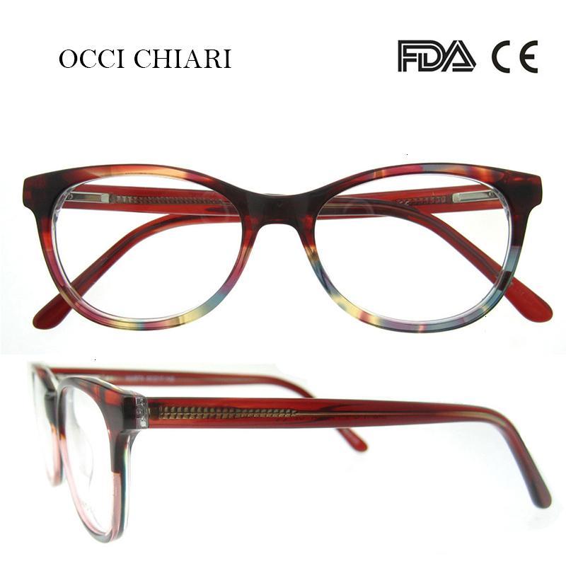02 Chiari ручной работы Италия мастерство рецептурные объектив медицинские оптические очки очистить дизайнерские очки женщины W-Cortese