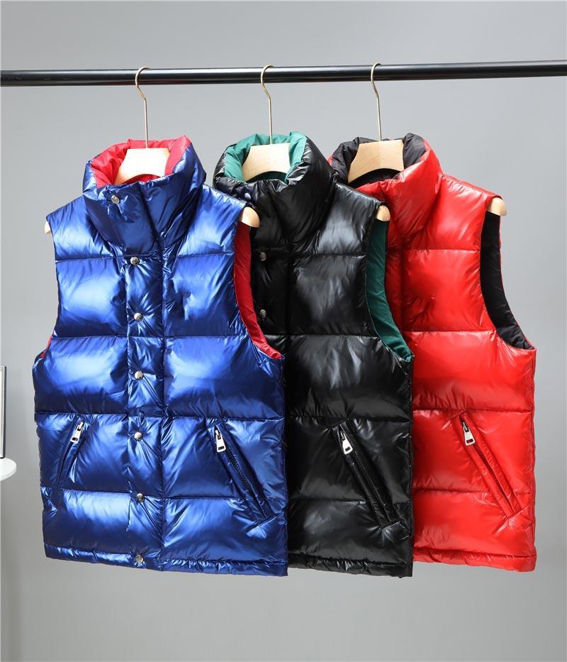Monclair flocando logotipo para baixo jaqueta homens e mulheres frança maré marca de algodão colete de alta qualidade com capuz cordão coletes m-xxl 008