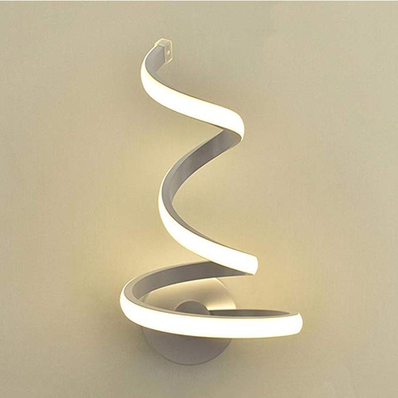 Nordice Abajur Cuarto de baño Lámpara de cristal de cristal de madera Corredor de cristal Corredor Comedor Sala de estar Lámpara de pared