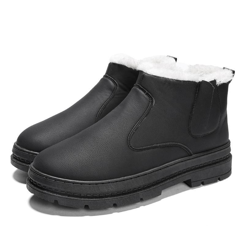 Stiefel 2021 Winter für Männer Casual Schuhe Arbeit Erwachsener Qualität Walking Gummi Sicherheit Schuhe Sneakers # G3