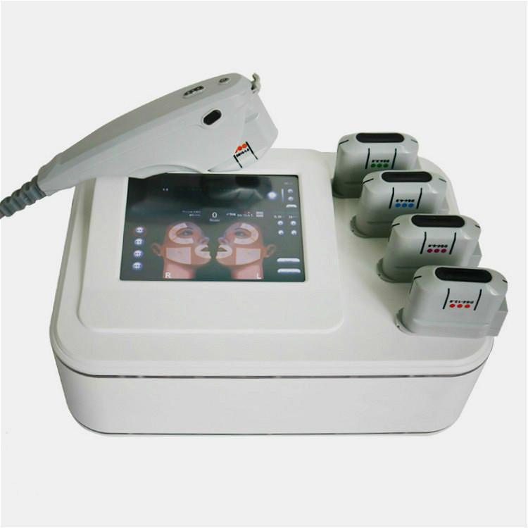 Más nuevo HIFU Beauty Machina Face Levantamiento de cara de alta intensidad enfocada e ultrasonido Dispositivo HIFU HIFU Sistema de belleza del removedor de la piel