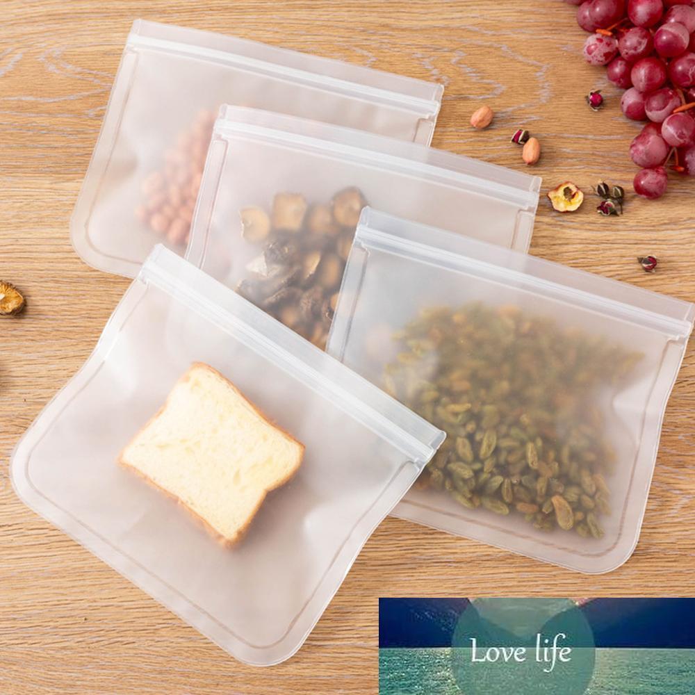 1 шт. Свежая уплотнительная сумка для хранения еды контейнеры силиконовые герметичные контейнеры многоразовые кухня организатор хранения морозильника еда