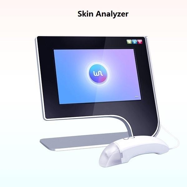 جديد الجيل الخامس ماجيك مرآة / محلل الجلد الذكي / اختبار الرطوبة آلة تحليل الجلد الوجه