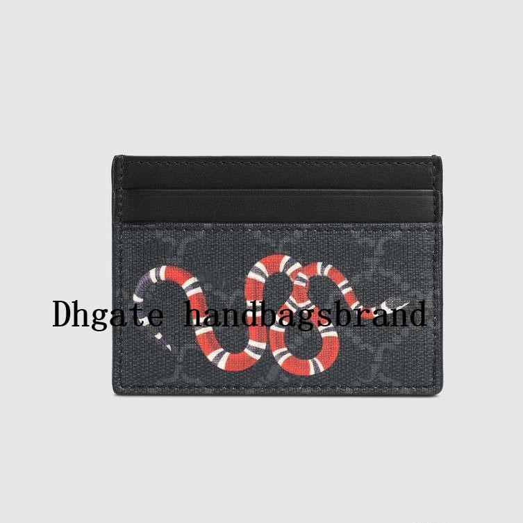Designers Hommes Luxurys Slim Cuir SBSU Casual Femme Titulaires de cartes Ultra Cowhide Classic Femmes Portefeuille Taille Portefeuille Carte de crédit Tholder Me XQGW