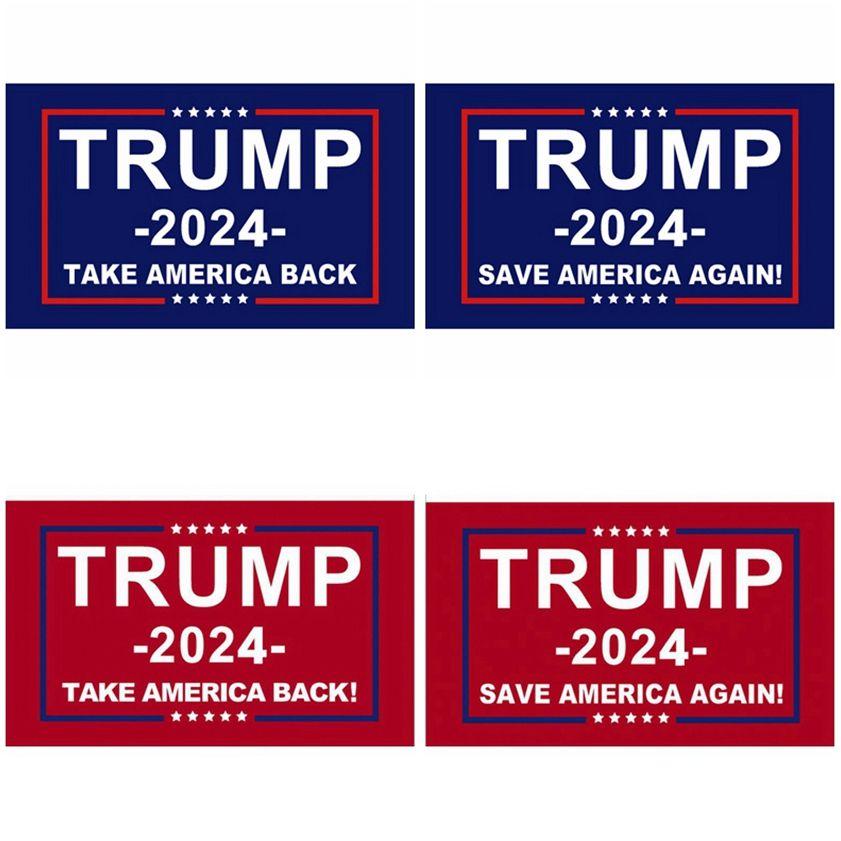 Trump Flag 2024 Election Flags Banner Donald Trump Flag Save America Again 150*90cm 5 Styles Trump Flags CYZ2985 Sea Freight