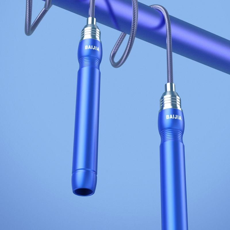 Atlama Halatlar Çelik Tel Unisex Halat Atlama Profesyonel Tek Ekipman Ağırlık Taşıyıcı Cuerda Saltar Spor EK50TS