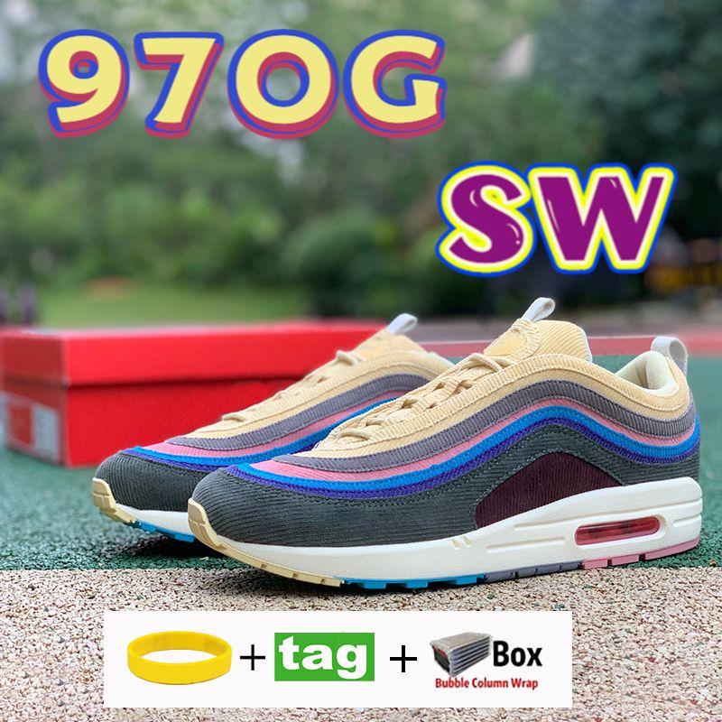 أعلى جودة sw 97og الاحذية شون whonepoon عداء حية الكبريت متعدد الأصفر الأزرق الهجين الرجال أحذية رياضية مثقال الحذاء 36-45