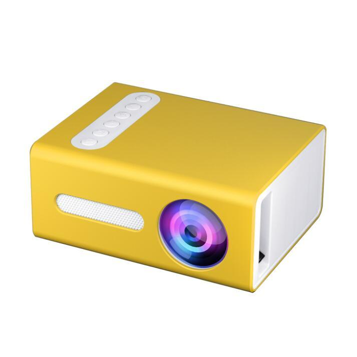 Neueste Modell T300 Multi Color Verfügbar Heimtheater System Pocket Mini-Projektor zum Verkauf besser als YG300