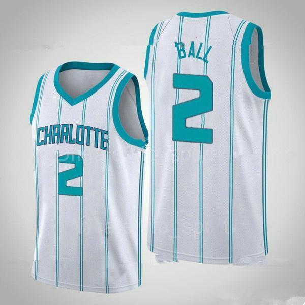 "Charlotte ""Hornets"" Mens Lamelo 2 Ball Gordon 20 Hayward 2021 Nouveau Jersey Basketball Collin 2 Sexton James 13 Harden Gold"