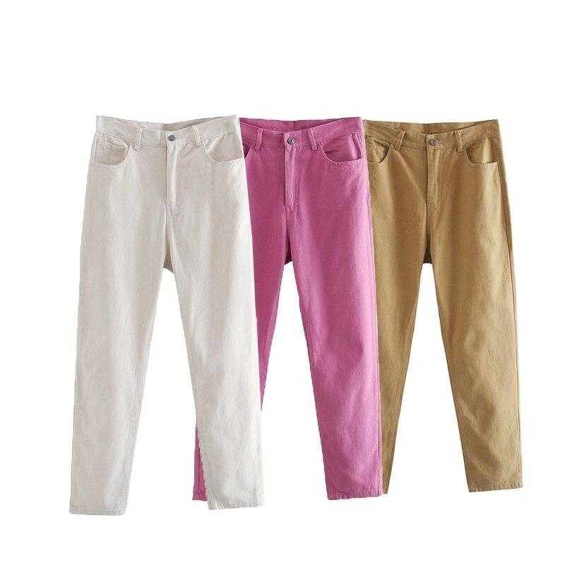 TOPPIES Autumn Woman pants High Waist Trousers Cotton Sweatpants Plus Size Clothing Clothes