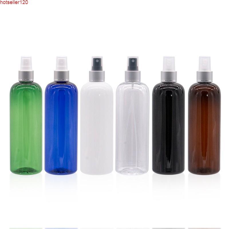 Doldurulabilir Püskürtücü Pompa Şişesi Gümüş Alüminyum Yaka Çok Fonksiyonlu Kozmetik Şişeleri Parfüm Sunscreen Sprey 500mlhigh Quatiy