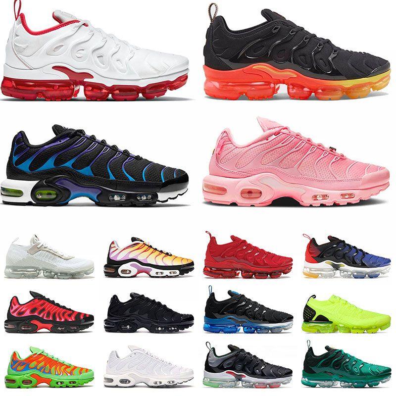 أحذية Nike Air Vapormax Tn Plus Vapor Airmax Max TNS Moc Flyknit Off White حذاء رياضي رجالي نسائي مقاس كبير 13 Atlanta أحذية رياضية للأحذية الرياضية 36-47 يورو