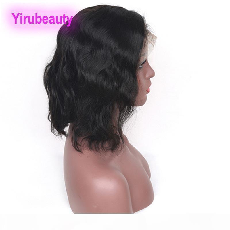 Parrucca del bob dei capelli vergini brasiliani della parrucca del bob 13x4 parrucche anteriori del merletto Bob stile dell'onda del corpo dei capelli umani 10 -16 pollici nuovi prodotti