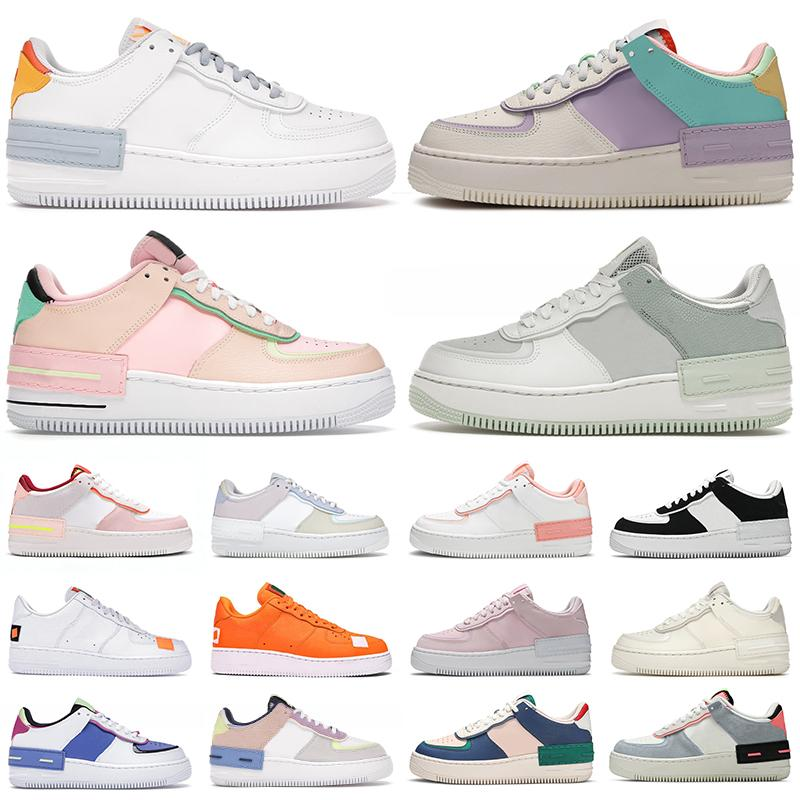 Acquista 2021 Air Force 1 Af1 Shoes Uomo Donna Scarpe Casual ...