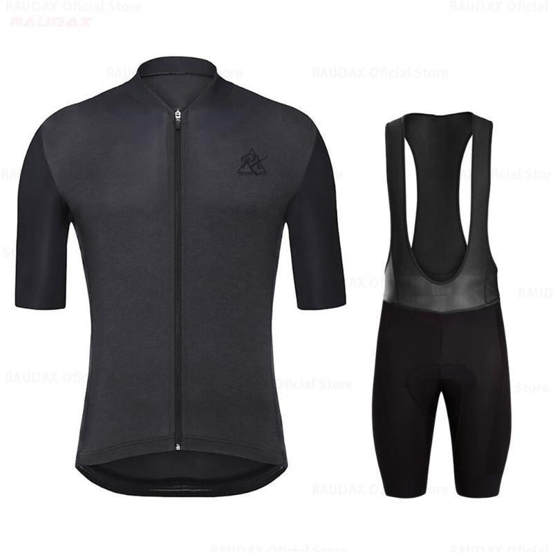 RX Raudax Hommes's Vêtements Portez Better Rainbow Pro Team Jersey Cyclisme Courtiers Courtes Vêtements Vêtements Vélo Vélo Summer Road Set