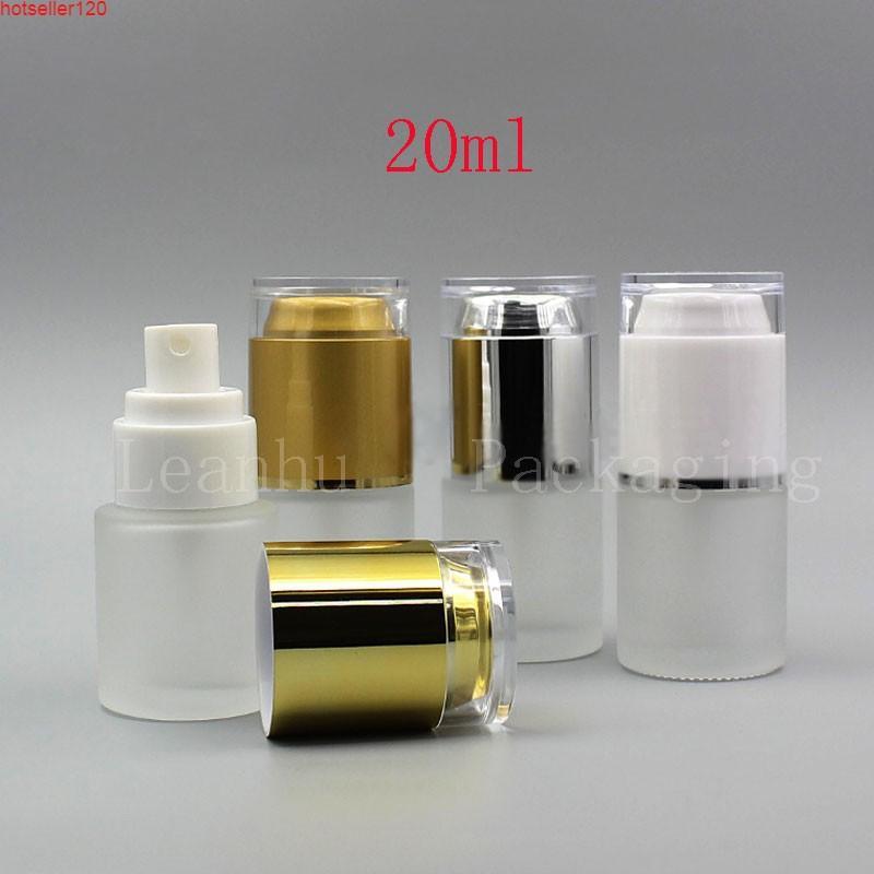 Boş Buzlu Cam Kozmetik Ambalaj Şişesi, 20cc Makyaj Ayarı Sprey, Boş Kaplar, 20 adet Doldurulabilir Parfüm Bottlehigh Quatiy