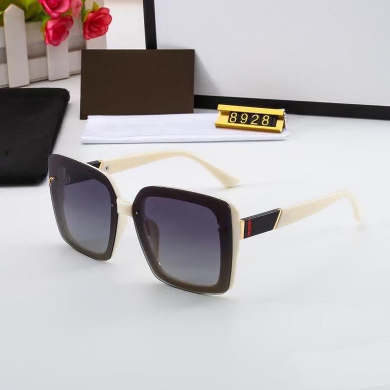 خمسة ألوان أزياء المرأة النظارات الشمسية عالية الجودة hd الاستقطاب العدسات الاتجاه عارضة ساحة القيادة نظارات مع حزمة 8928