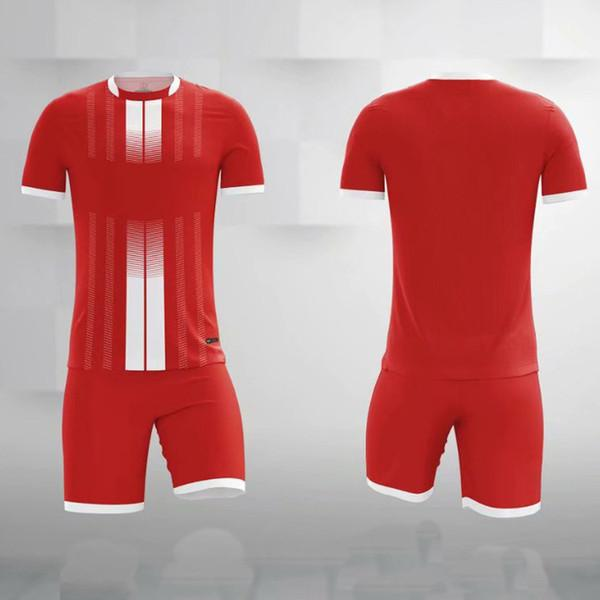 Jersey de football blanc Jersey Set de football adulte Kits de football Vêtements Hommes Suivi des enfants Courts enfants Football Former costume Sport usure de sport013