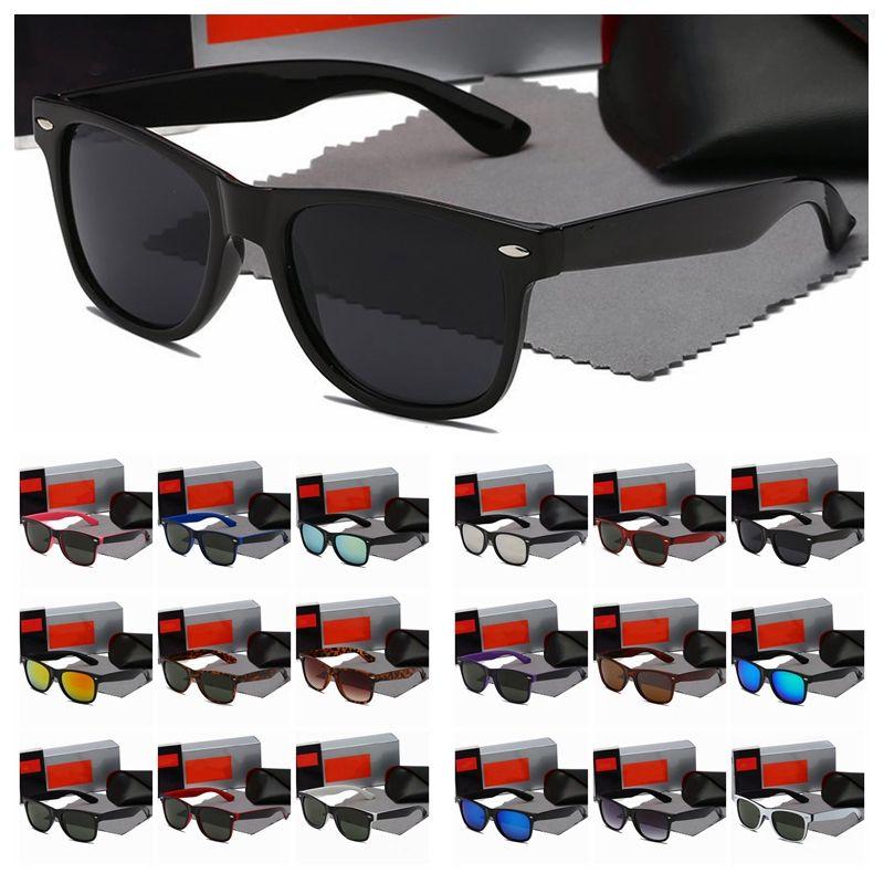 الجملة الفاخرة مصمم النظارات الشمسية للرجال النساء الطيار نظارات الشمس جودة عالية 2021 الكلاسيكية الأزياء adumbral النظارات اكسسوارات المولات دي سولي مع القضية