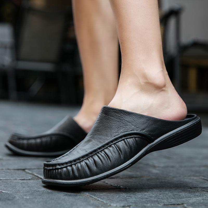 النعال الصيف أحذية الرجال شبشب 40-47 إيفا لينة العمل عارضة الرجال الوجه يتخبط slingbacks في الهواء الطلق الأزياء شاطئ الصنادل 2021