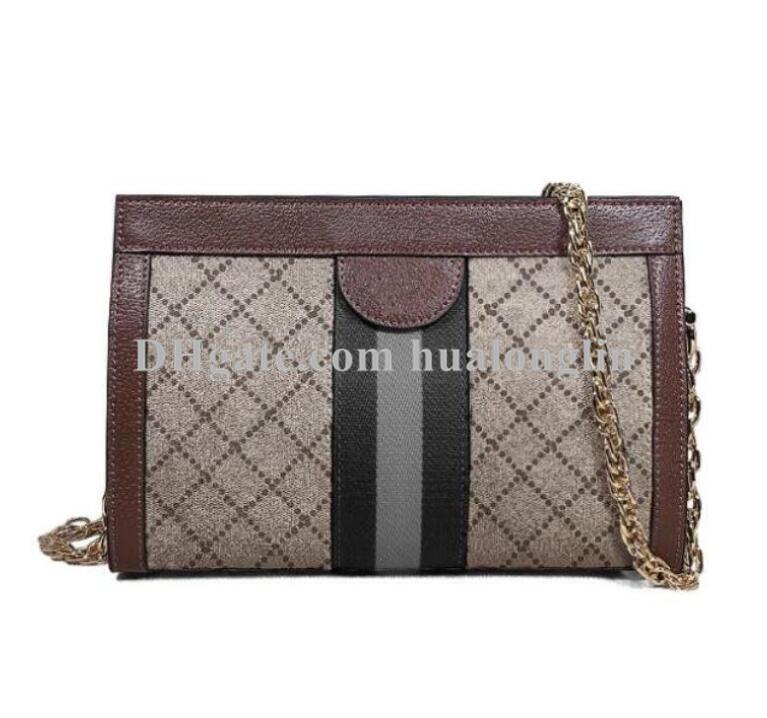 여자 가방 핸드백 여성 원래 상자 일련 번호 코드 가죽 고품질 크로스 바디 패션 레이디 지갑