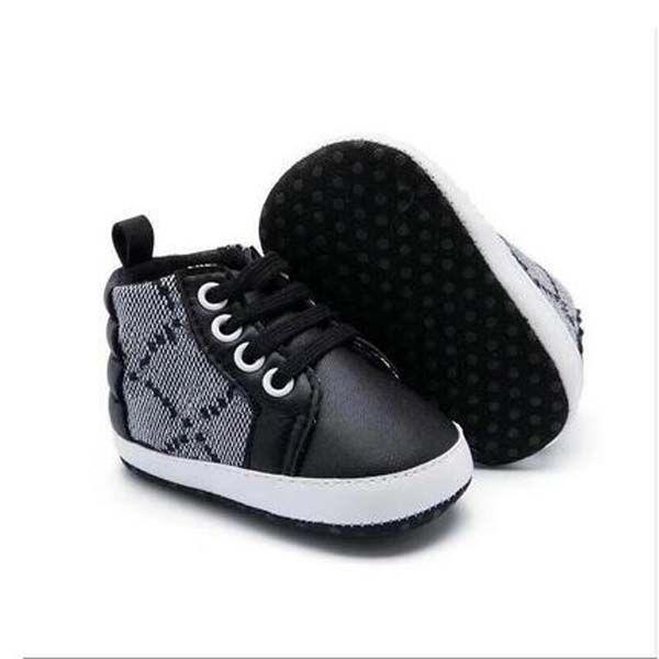 أحذية الأطفال حديثي الولادة 0-1 سنة الأحذية موجة صغيرة ناعمة وحيد مريحة عدم الانزلاق تصميم رياضة طفل رضيع الفتيات الأحذية