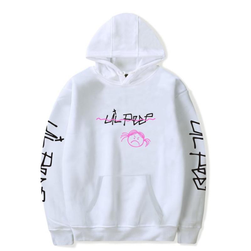 Herren Hoodies Sweatshirts Ankunft Lil Peep Hell Boy Lil.Peep Männer Frauen Mit Kapuze Pullover Männliche Weibliche Sudaderas Schrei Baby Haube Hoddie