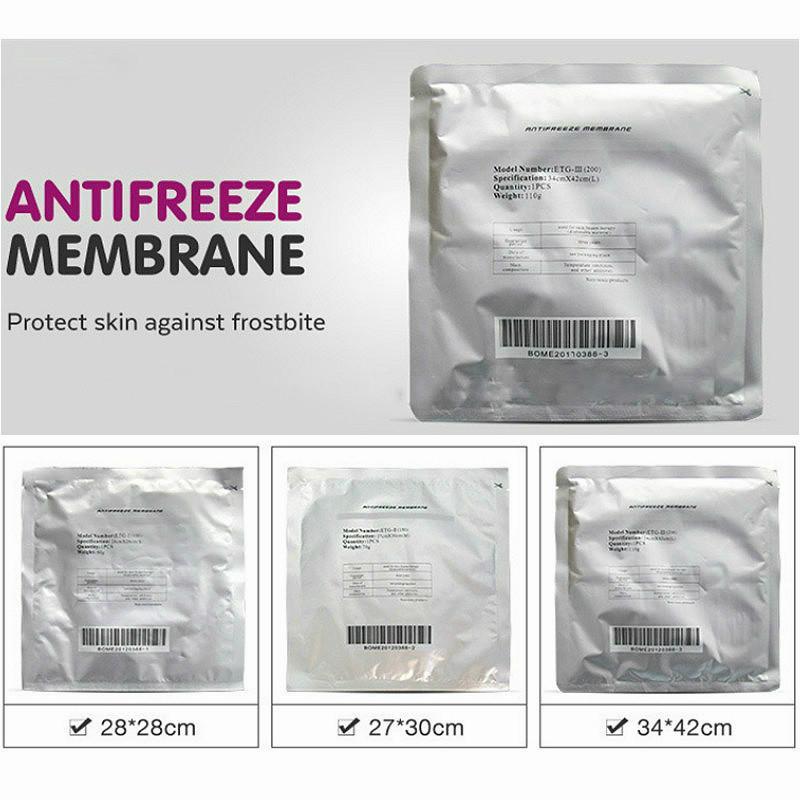 Высокое качество красоты оборудования аксессуары мембраны мембраны мембран антифриза антифризами мембраны для заморозки для морозильных машин для похудения