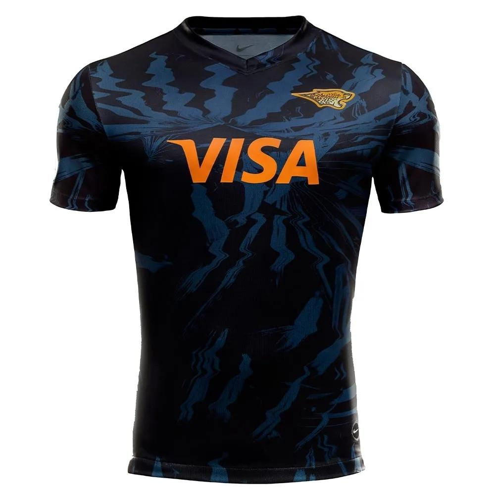 Os Jaguares 2020 Adultos Super Rugby Camiseta Camiseta Maillot Camiseta Maglia Tops S-5XL Kit Maglia Tops