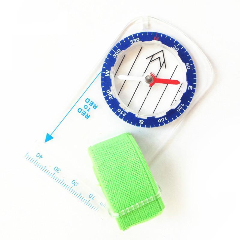 Thumb Outdoor Professional Thumb Compass Elite Concurso Orientación Compass Portable Map Scale