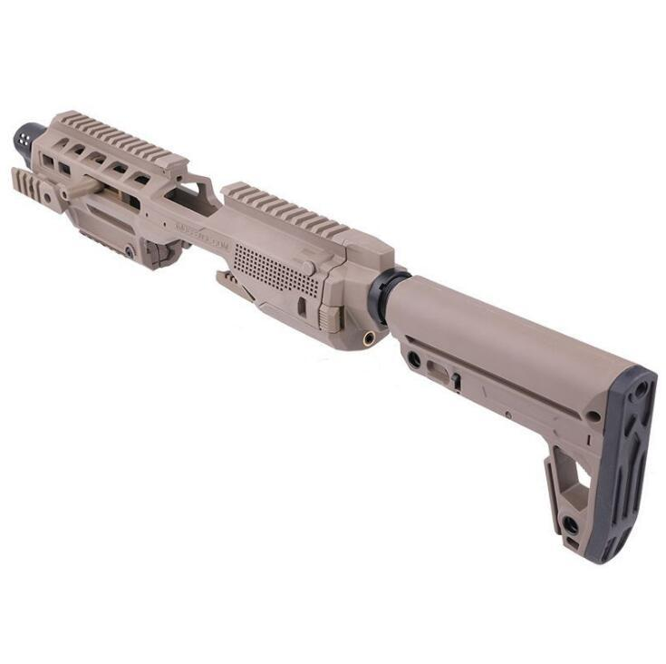 Caa Airsoft Roni Toys Pistol G17 Kit di conversione del carabino per G17 Accessori per pistole in nylon