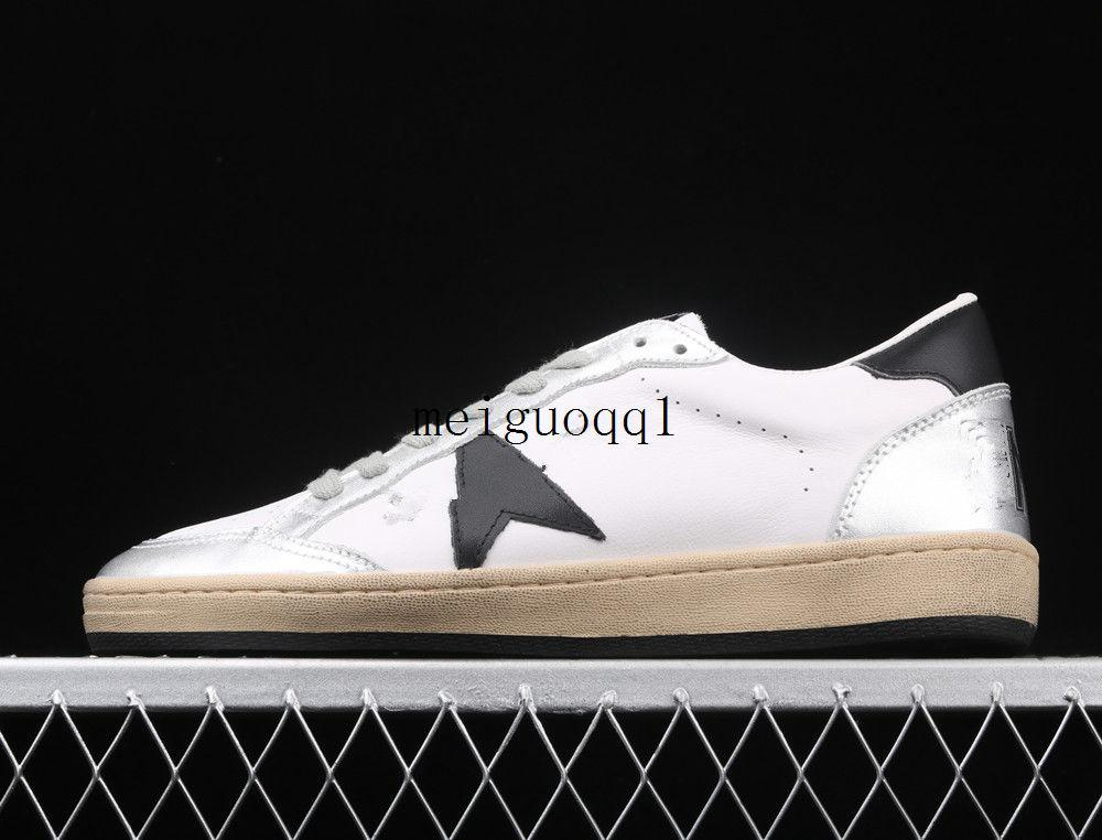 2021 Sternenhimmel Schuhe Gold Classic Double High Bottom Bottom Dirty Shoe Designer Männer Turnschuhe Freizeitschuhe # G33MS590 Original Box