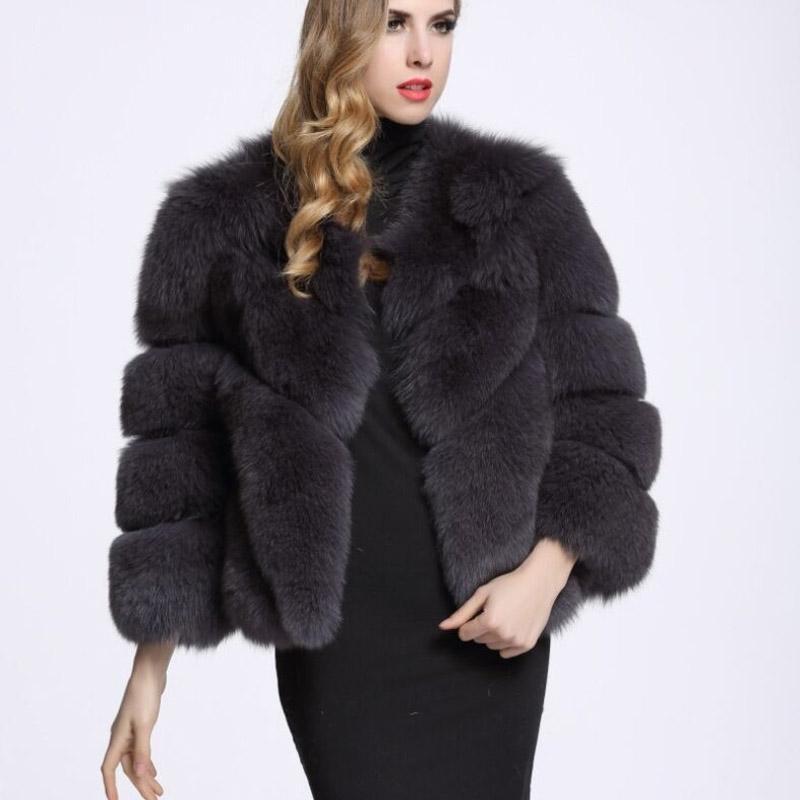 Hiver Vintage Vintage Manteau Faux Fourrure Femmes Femmes Courtes Fourrure Chaud Hiver Vêtements de dessus Vêtements de dessus Rose Poiser Casual Party Overcoat 210222
