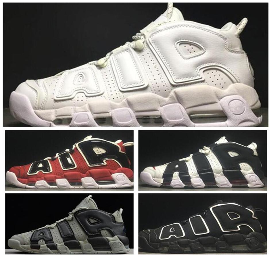 2021 daha fazla UpTempos Yeni 96 QS Olimpiyat Varsity Bordo Mens Basketbol Ayakkabıları 3M Scottie Pippen Chicago Eğitmenler Spor Sneakers Yeni