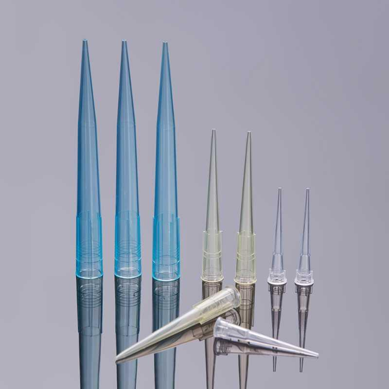 Lab Supplies Disposable Plastic Sterile Pipette Tips 1000ul Tip Without Filter