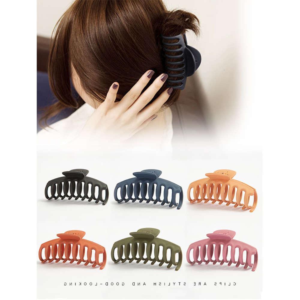 Корейский аксессуары ванны схватывают большие зажима волос головной убор на задней части головы средняя милая