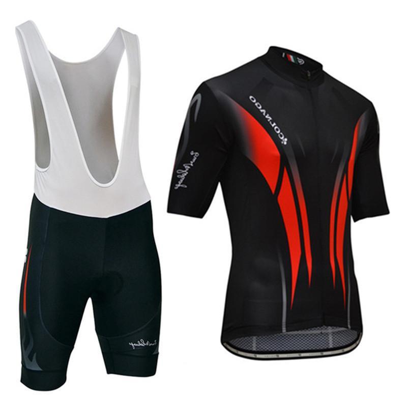 Le Col 2021 Verano Nueva bicicleta Colnago Pro Team Jersey Sets Maillot Ciclismo Ciclismo Ropa de ciclismo Quick Dry Anti Bicycle MTB Kit deportivo