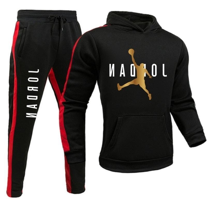 Новый большой бегущий фитнес спортивный отдых Мужчины с капюшоном в осень и зимний свитер Subezvbc