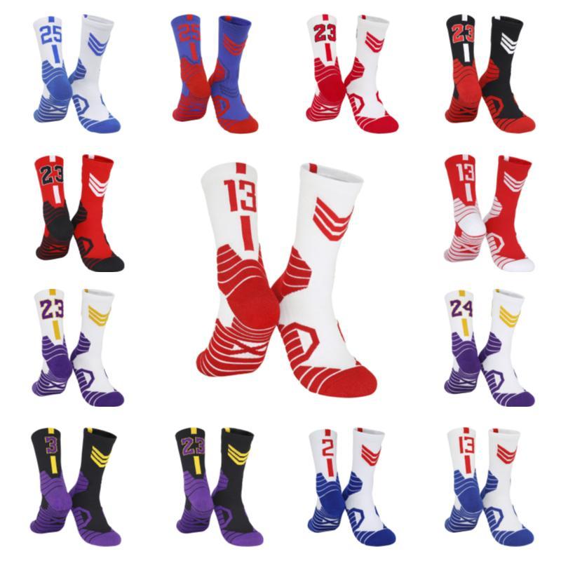 200 USA Professionelle Elite Basketball Socken Herren Lange Knie Athletische Mode Wanderung Tenniskompression