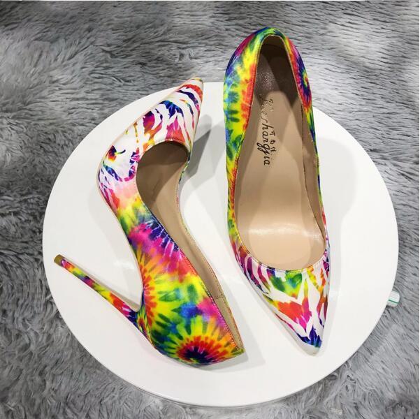 Большой размер Euro45 моды роскоши дизайнерские женские туфли на высоком каблуке красный подошвы, поэтому Kate Style 8 см 10 см 12 см заостренные пальцы насосы платье