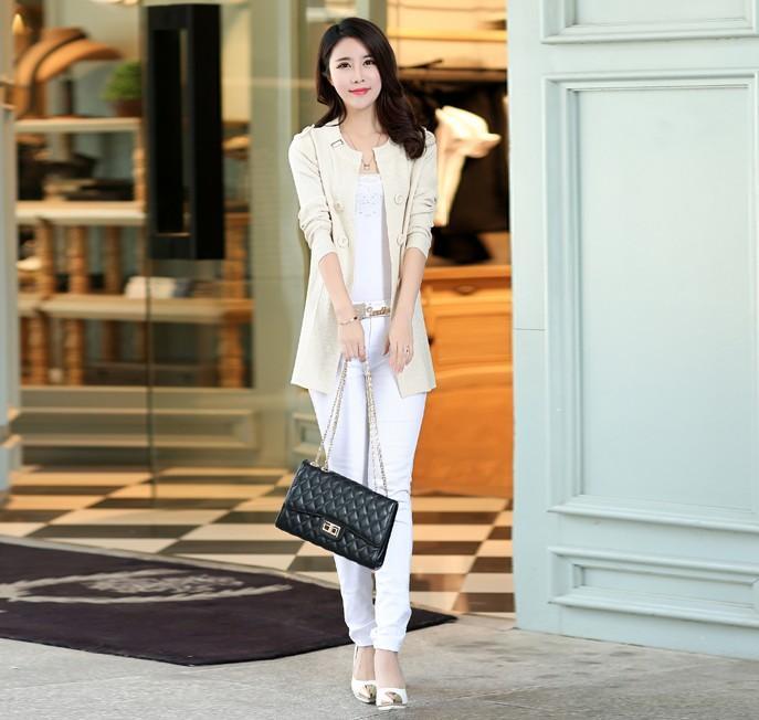 Hurtownie-kobiety dziane swetry różowy królowa Europa Street Style Cardigans Slimgulatorydowa kardiganowa kurtka długi sweter płaszcze
