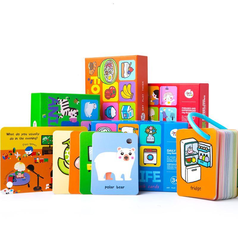 Meile Детская грамотность Английский Детские Ранние Обучение Обучение СПИДу Puzzle Карточка памяти Детский Сад Слово Признание Игрушки