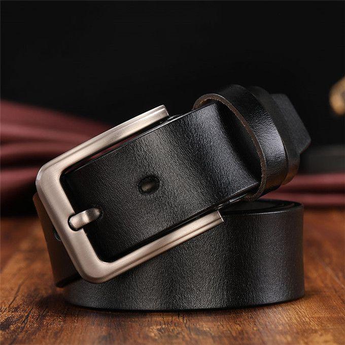 Cintura di moda uomo in vera pelle cintura cintura di alta qualità h liscio fibbia da uomo cinture per le donne cintura jeans