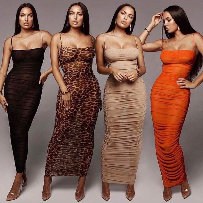 المرأة ملابس النساء الصيف اللباس 2021 للشاطئ تسخير كلمة الكتف مثير الإناث حزمة سليم طباعة البوليستر سييرا سيرفر