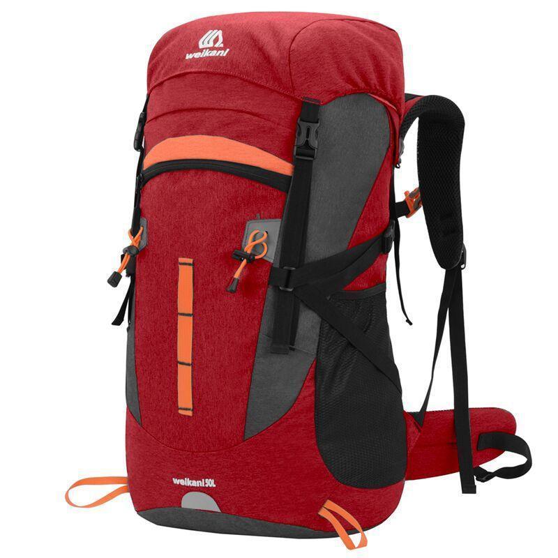 Caminhadas Mochilas 50L Alta Capacidade Bolsos Múltiplos Bolsas Táticas Saco de Alpinismo Ao Ar Livre Camping Escalada Trekking Sacos de Viagem